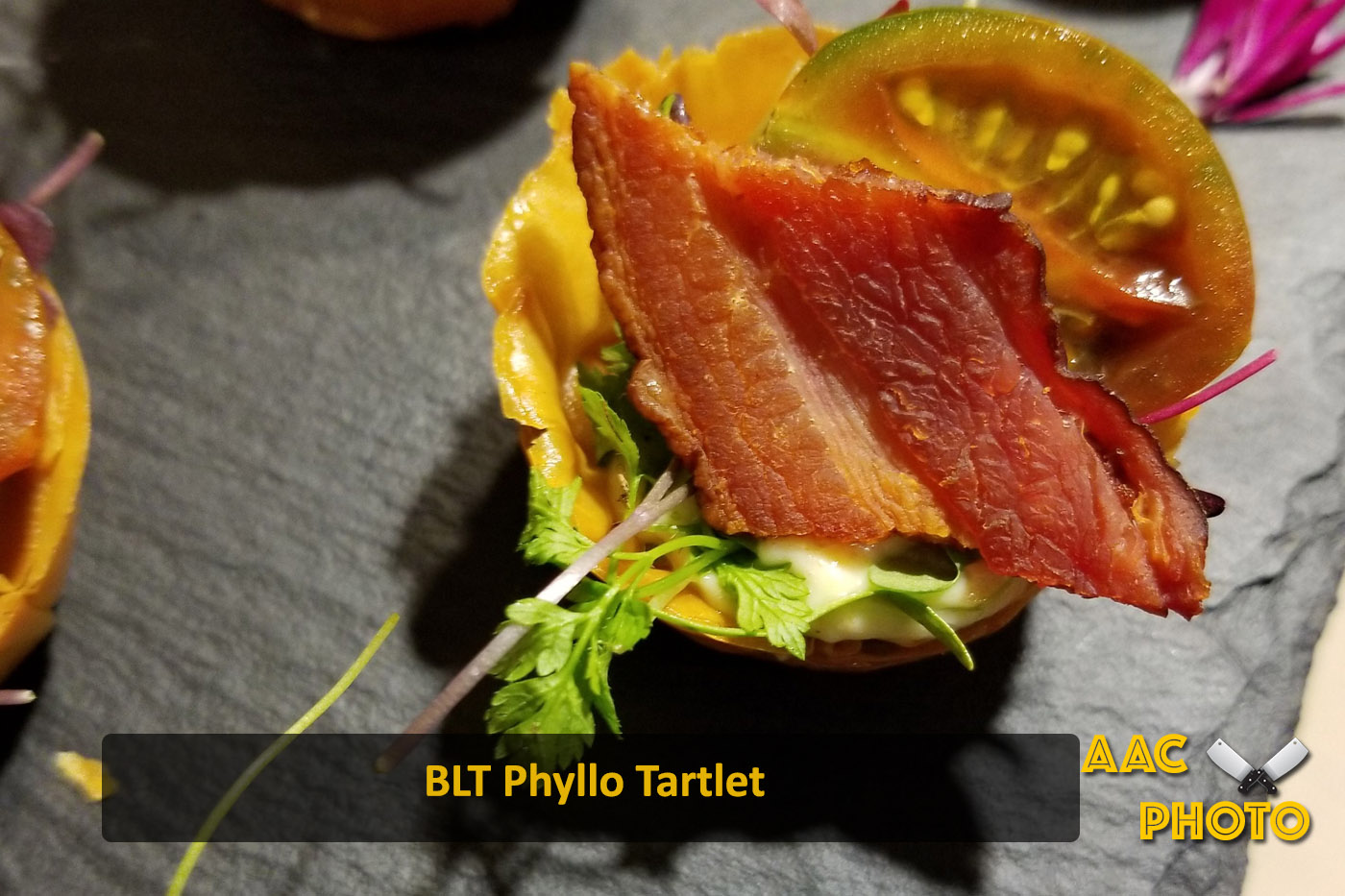 BLT Phyllo Cup