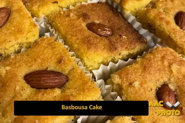 Basbousa Cake