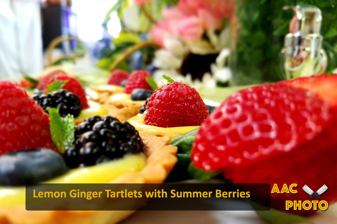 Lemon Ginger Tartlet