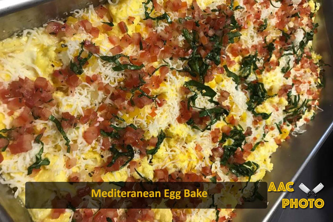 Mediterranean Egg Bake