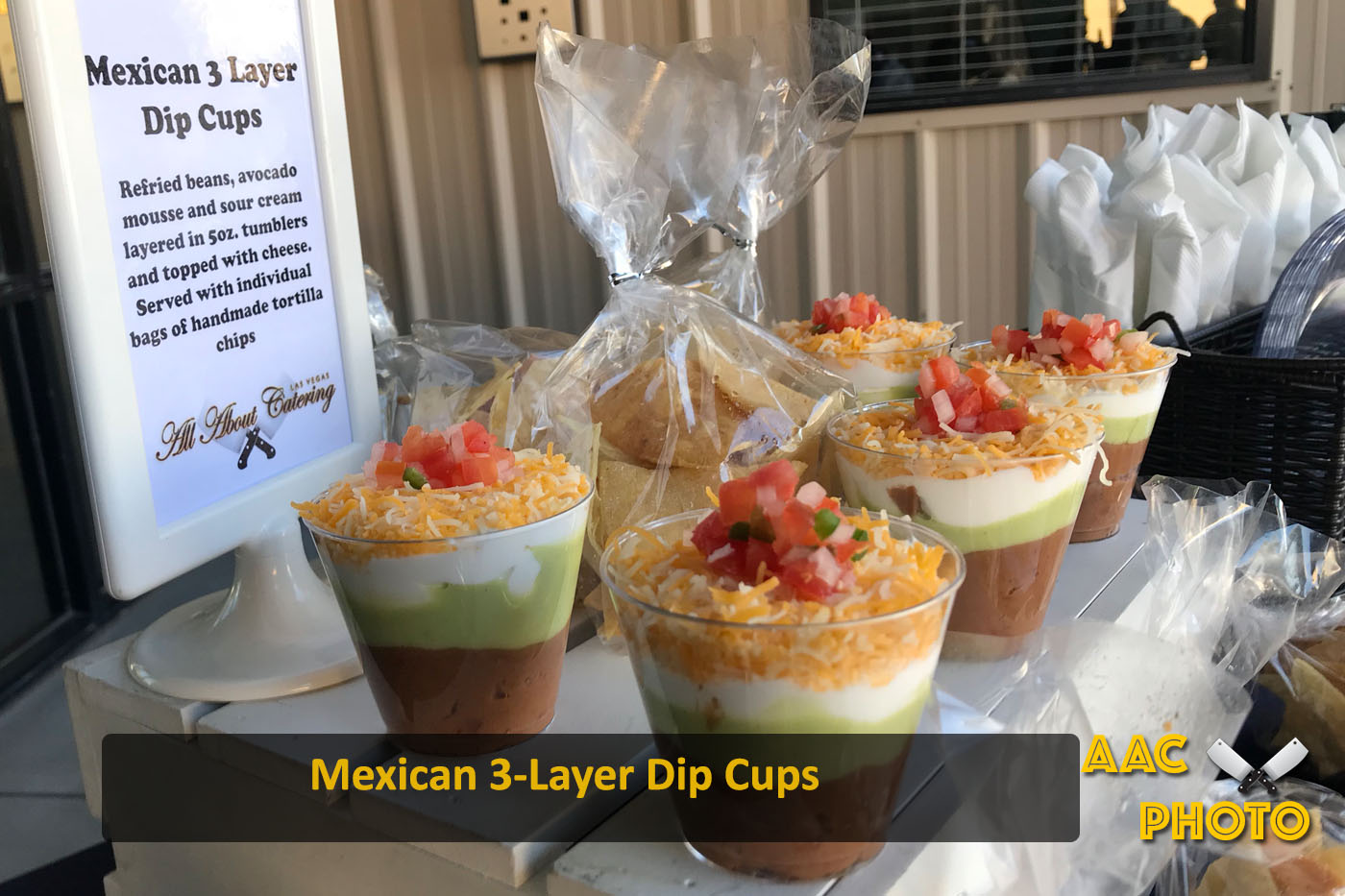 3 Layer Dip Cups