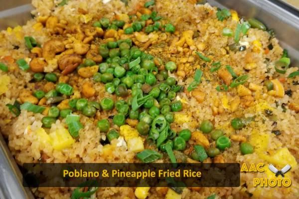 Poblano Pineapple Fried Rice