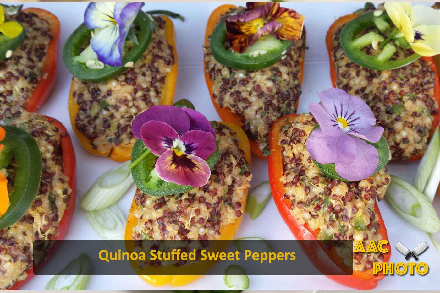 Quinoa Mini Peppers