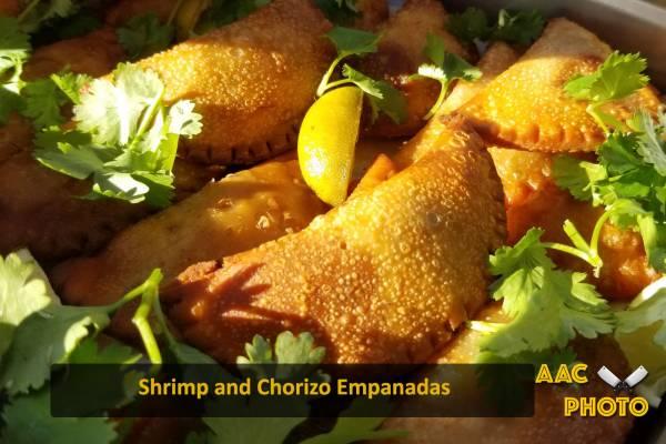 Chorizo & Shrimp Empanadas