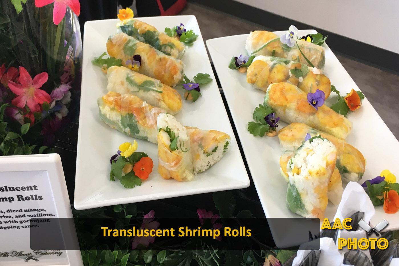 Transluscent Shrimp Rolls