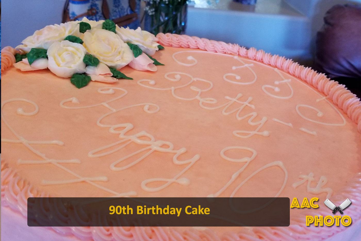 90th Bday Cake