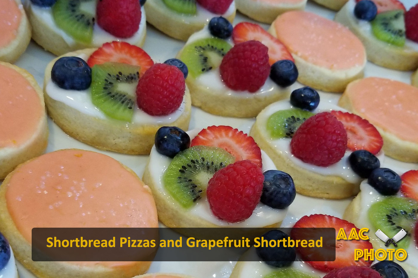 Shortbread Pizza & Grapefruit Shortbread