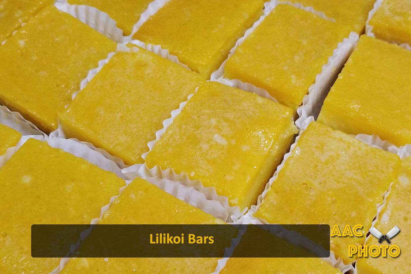 Lilikoi Bars