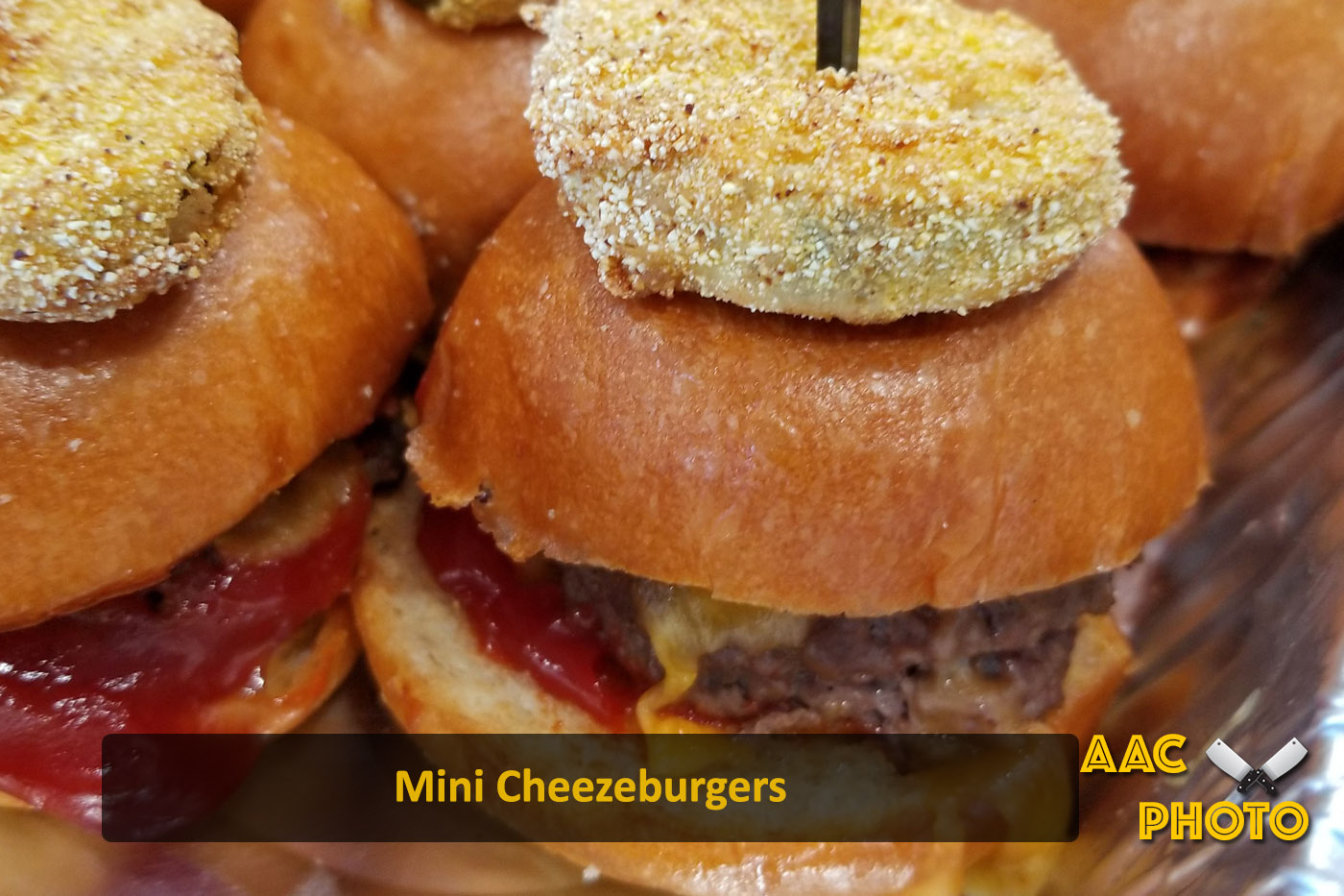 Mini Cheezeburgers