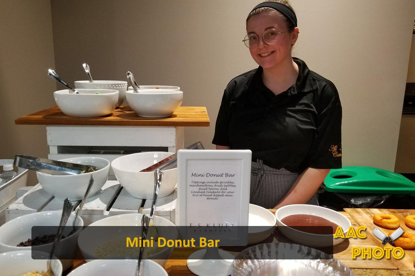 Mini Donut Bar