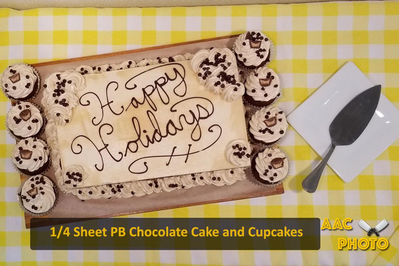 PB Chocolate Cake
