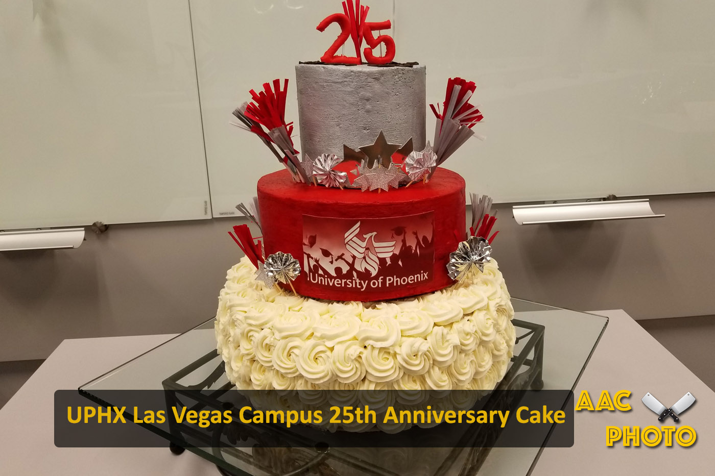 University of Phoenix Cake